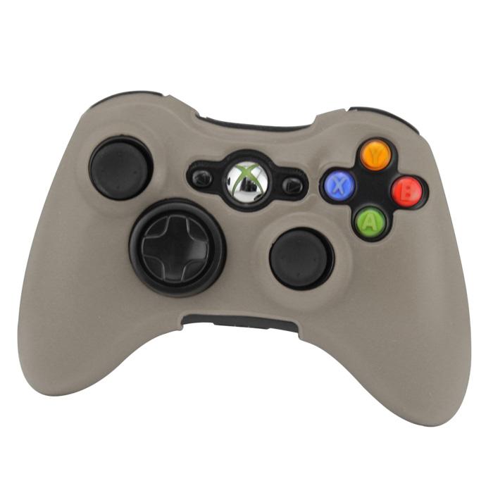 Silikonový obal na ovladač Xbox 360 Barva: šedý