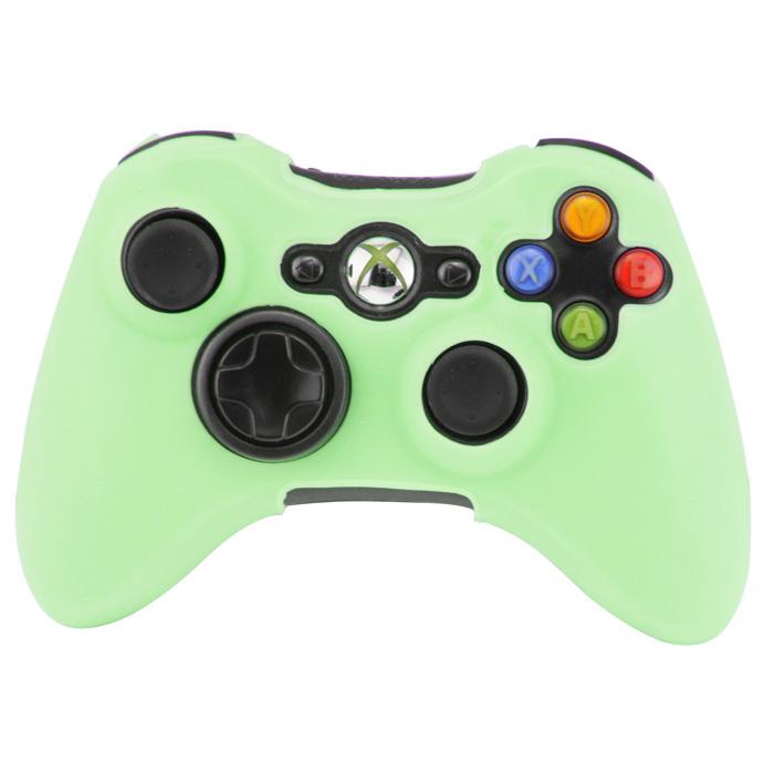 Silikonový obal na ovladač Xbox 360 Barva: světle zelený