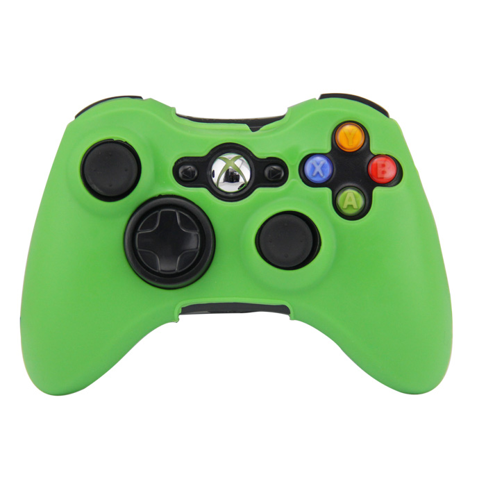 Silikonový obal na ovladač Xbox 360 Barva: zelený