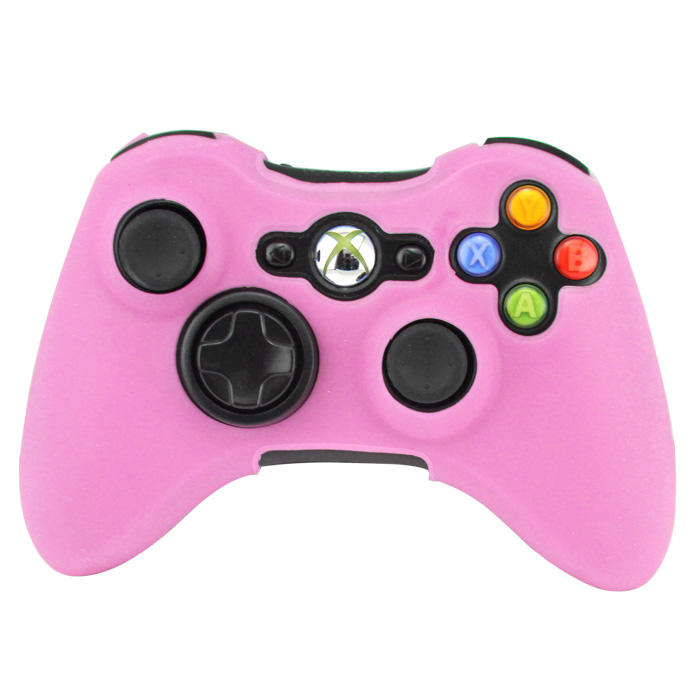 Silikonový obal na ovladač Xbox 360 Barva: růžový