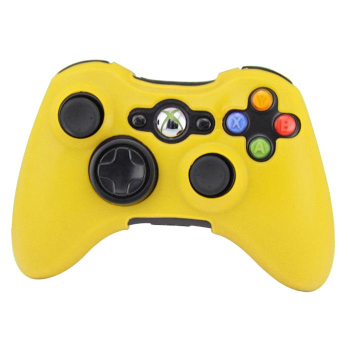 Silikonový obal na ovladač Xbox 360 Barva: žlutý