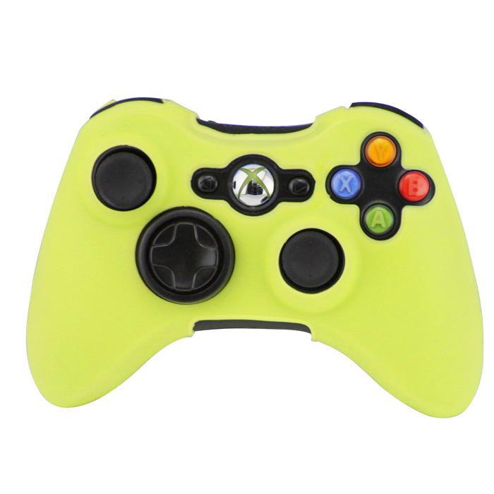Silikonový obal na ovladač Xbox 360 Barva: žlutozelený