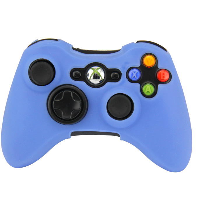Silikonový obal na ovladač Xbox 360 Barva: světle modrý
