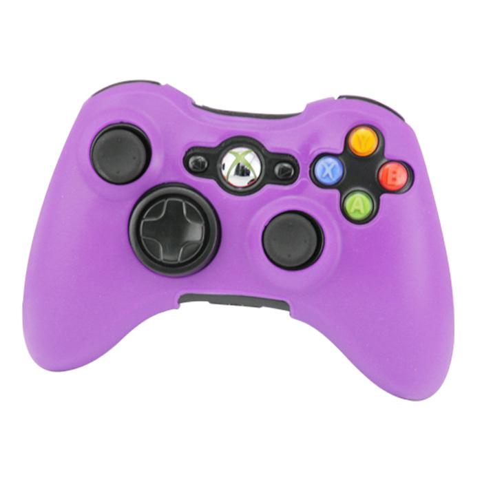 Silikonový obal na ovladač Xbox 360 Barva: fialový