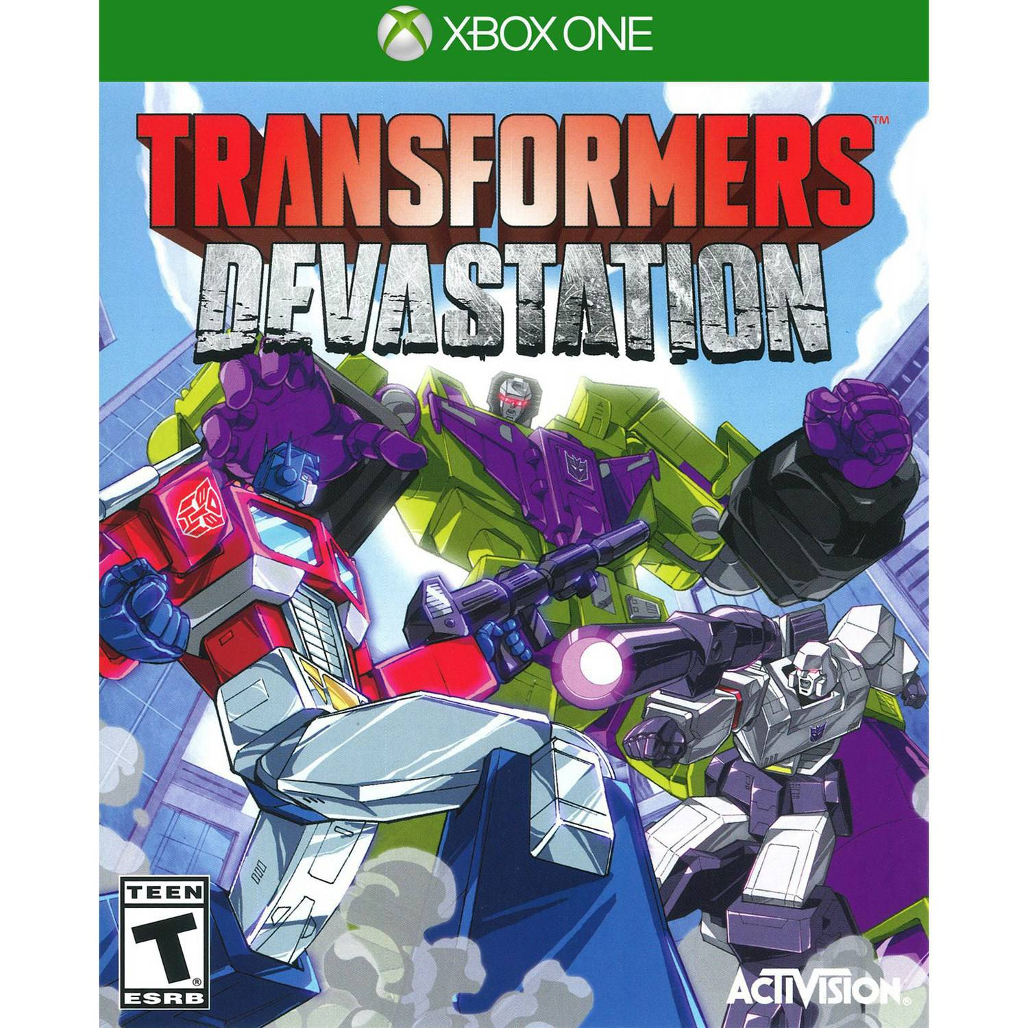 Transformers Devastation (Xbox One)