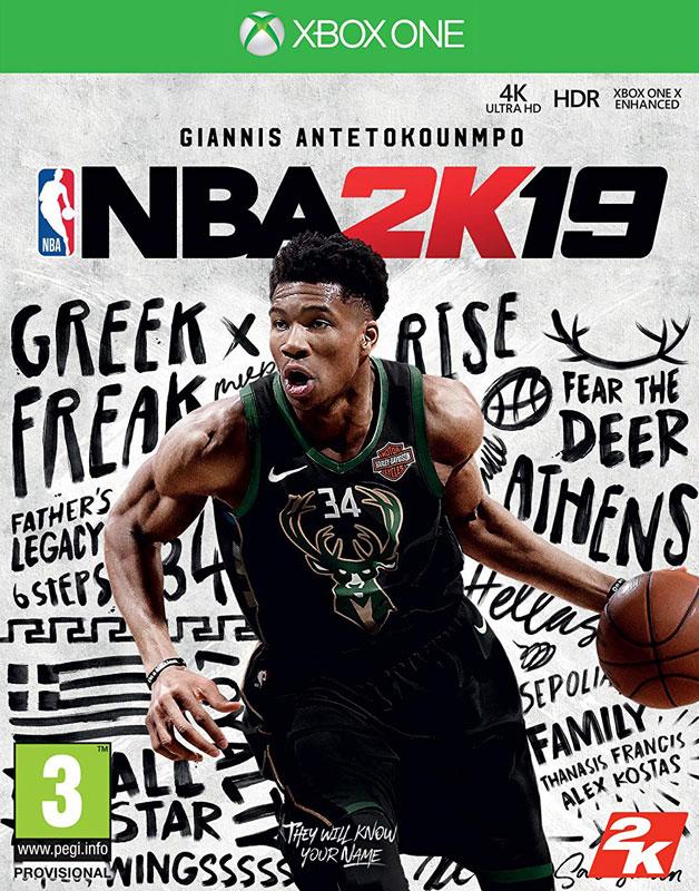 NBA 2K19 Steelbook (Xbox One)