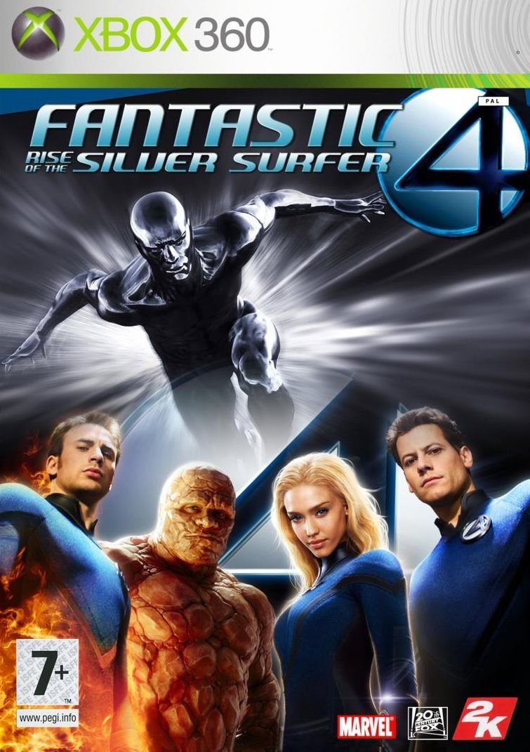 Fantastic 4: Rise of the Silver Surfer (Xbox 360)