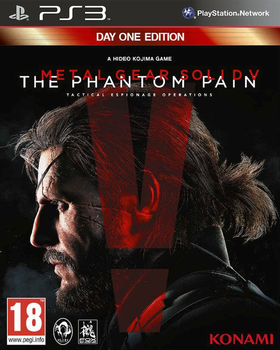 Metal Gear Solid V: The Phantom Pain - Day 1 Edition (PS3)