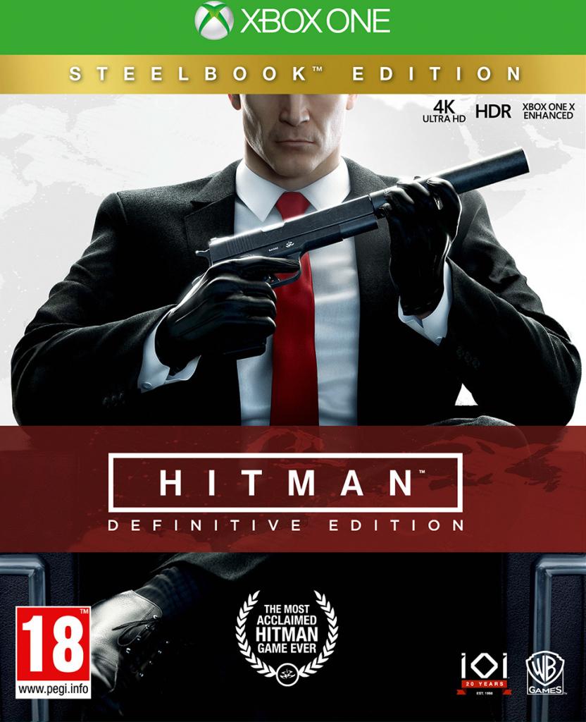 Hitman Definitive Steelbook Edition (Xbox One)