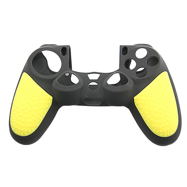 Protiskluzový obal na ovladač (PS4) Barva: žlutý