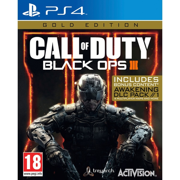 Call of Duty: Black Ops 3 - Gold Edition (PS4)