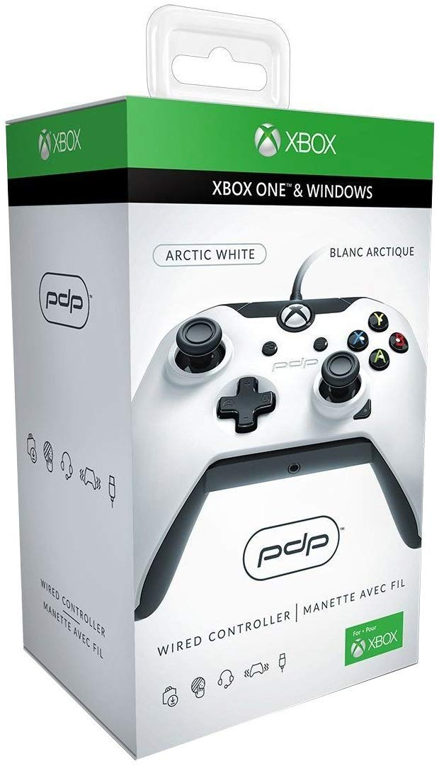 PDP Wired Controller pro Xbox One Barva: Arctic White