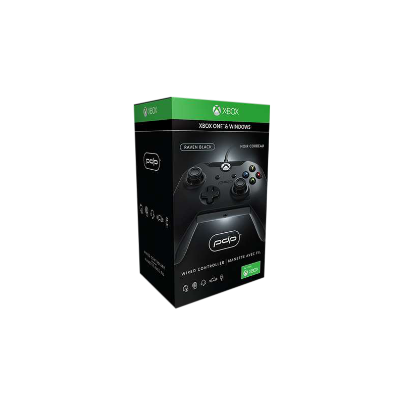 PDP Wired Controller pro Xbox One Barva: Raven Black