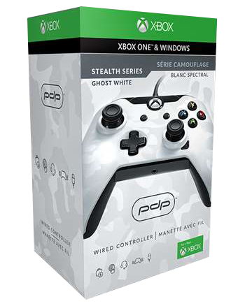 PDP Wired Controller pro Xbox One Barva: Ghost White