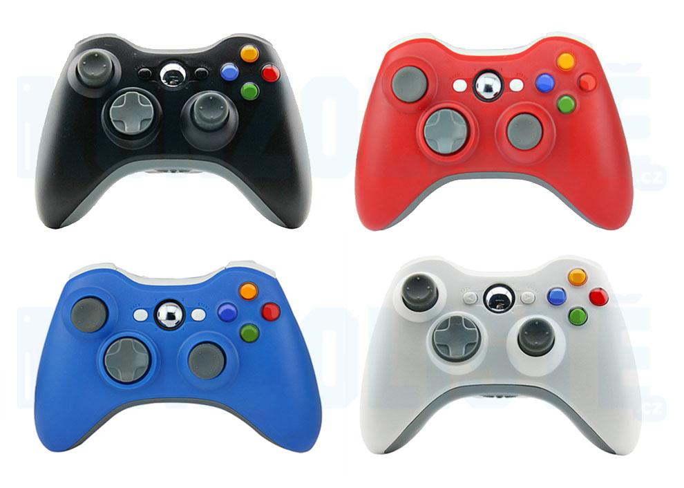 Xbox 360 Wireless Controller Barva: červený