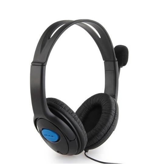 Herní sluchátka s mikrofonem (PS4)