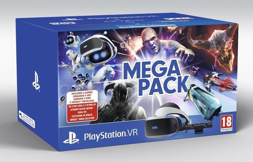Sony PlayStation VR V2 + Camera V2 + 5 her (Skyrim, Doom, Astro Bot, Wipeout, VR Worlds)