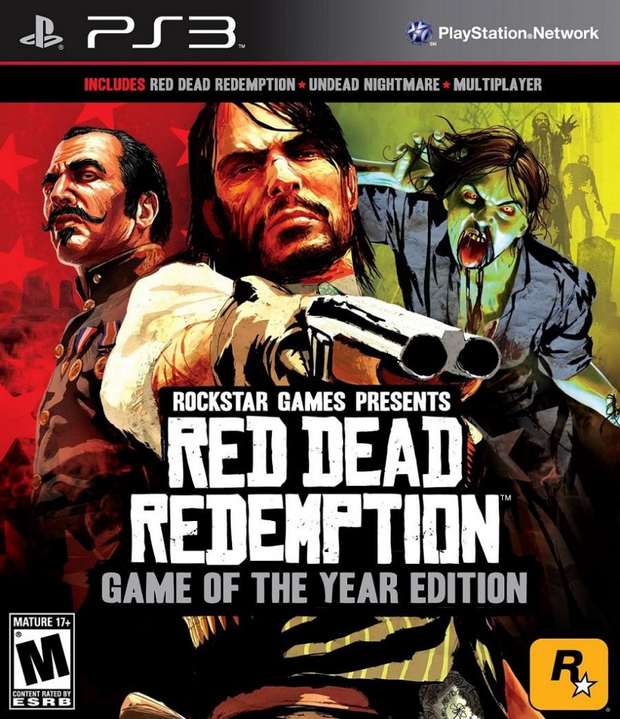 Red Dead Redemption - GOTY Edition (PS3)