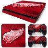PS4 Slim Polep Skin Detroit Red Wings