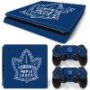 PS4 Slim Polep Skin Toronto Maple Leafs