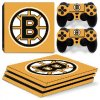 PS4 Pro Polep Skin NHL - Boston Bruins