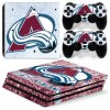 PS4 Pro Polep Skin NHL - Colorado Avalanche