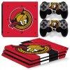 PS4 Pro Polep Skin NHL - Ottawa Senators