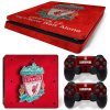 PS4 Slim Polep Skin Liverpool FC
