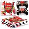 PS4 Pro Polep Skin Arsenal FC