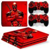 PS4 Pro Polep Skin Deadpool