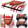 PS4 Slim Polep Skin Arsenal FC
