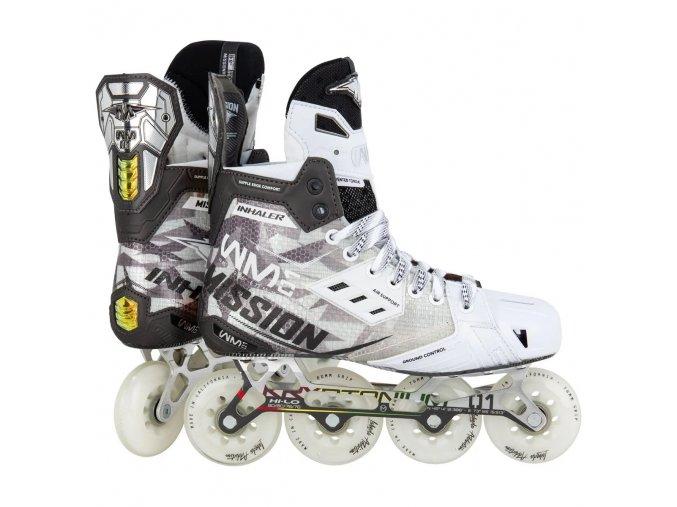 mission roller hockey skates inhaler w01 sr