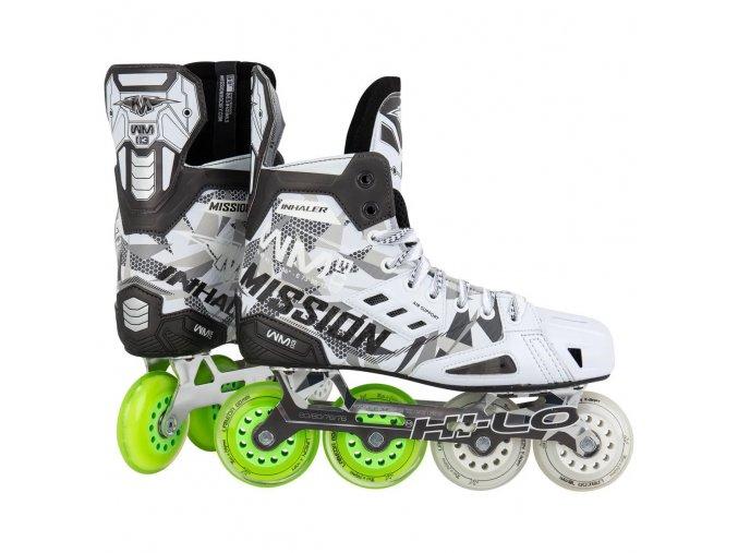 mission roller hockey skates inhaler nls 02 sr