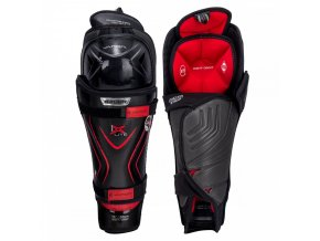 bauer hockey shin guards vapor lx lite sr