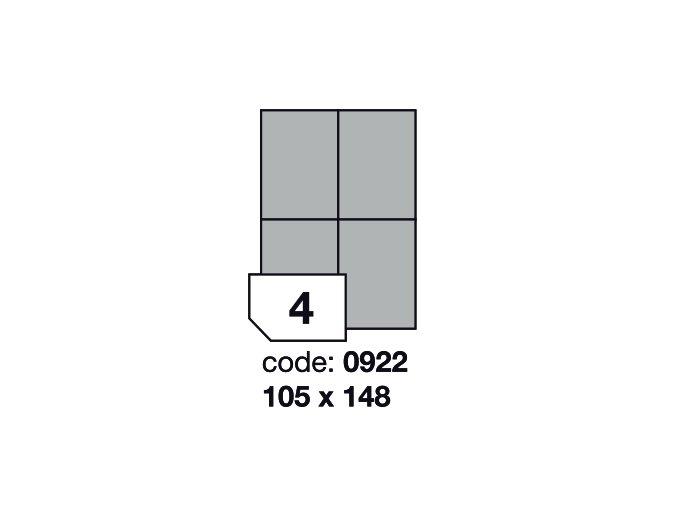 105 x 148,5 mm - 0922