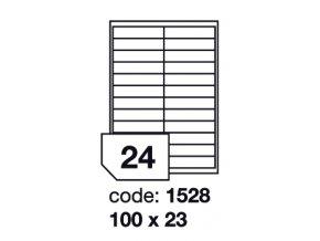 100 x 23 mm - 1528