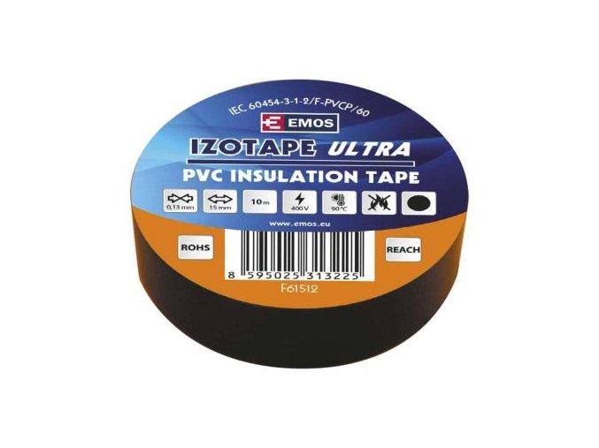 paska elektroizolacni 15 mm x 10 m cerna