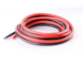 30AWG silikonový kabel černá/červená/žlutá