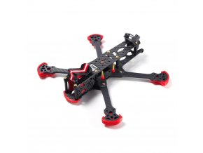 hglrc sector 5 6 7 v3 hd freestyle 3k carbon fiber frame kit for rc drone fpv 108597