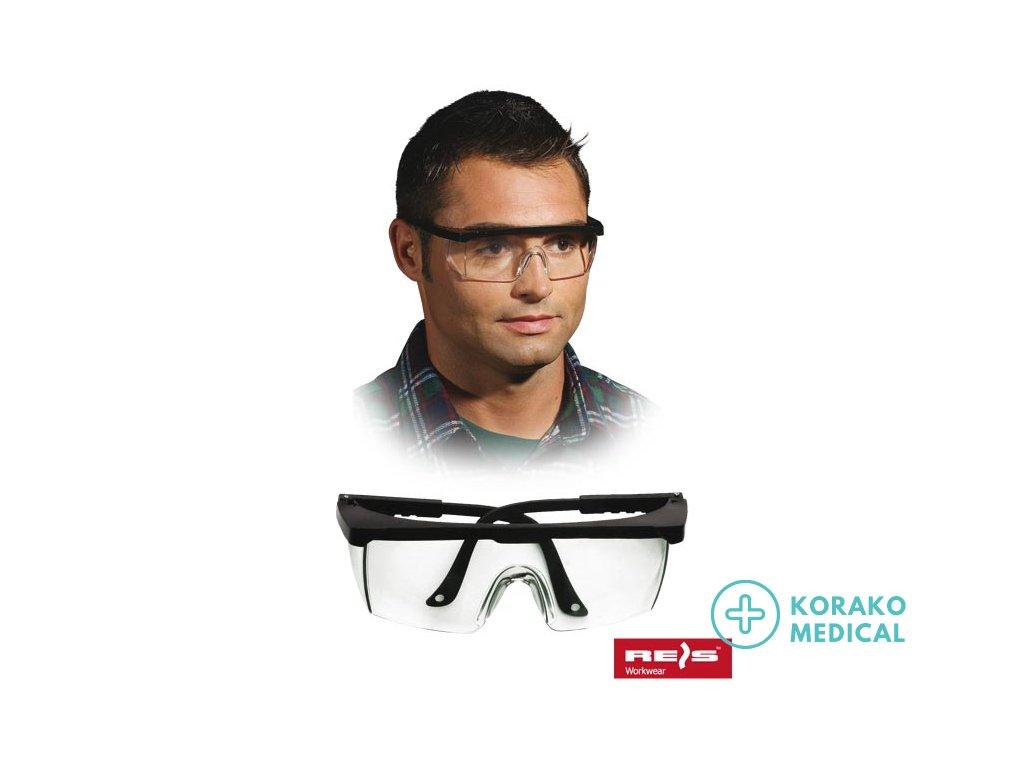 Pracovné ochranné okuliare GOG-FRAMEB