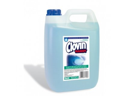Clovin Handy ECO Tekuté mydlo s antibakteriálnym účinkom s glycerínom Oceán 5l