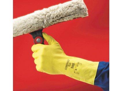 Latexové rukavice veľkosť 8 (M/L)