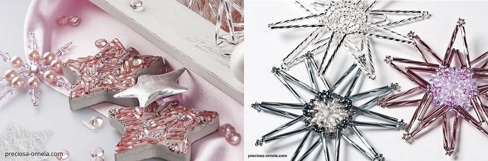 PRECIOSA - kombinace rokajlových dlouhých tyček, twinů a rokajlových perliček