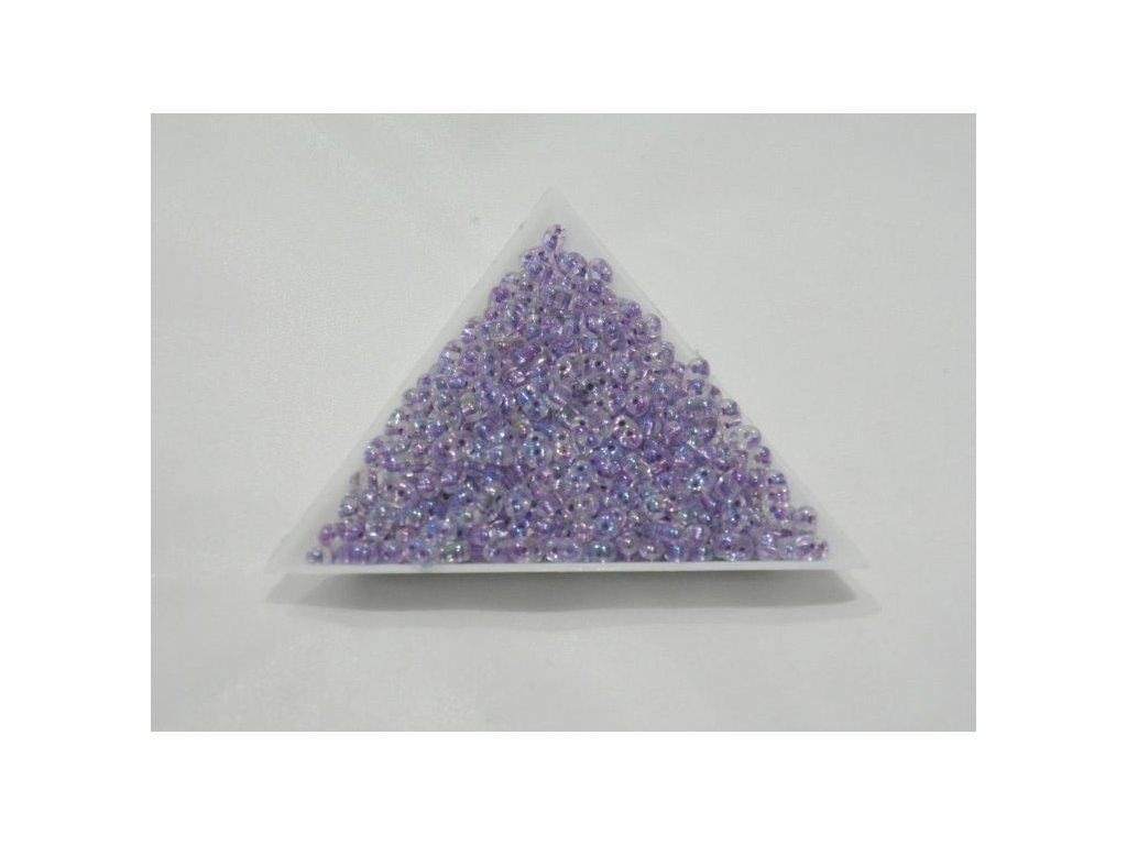 Korálky PRECIOSA Twin™ - fialové duhové 68425