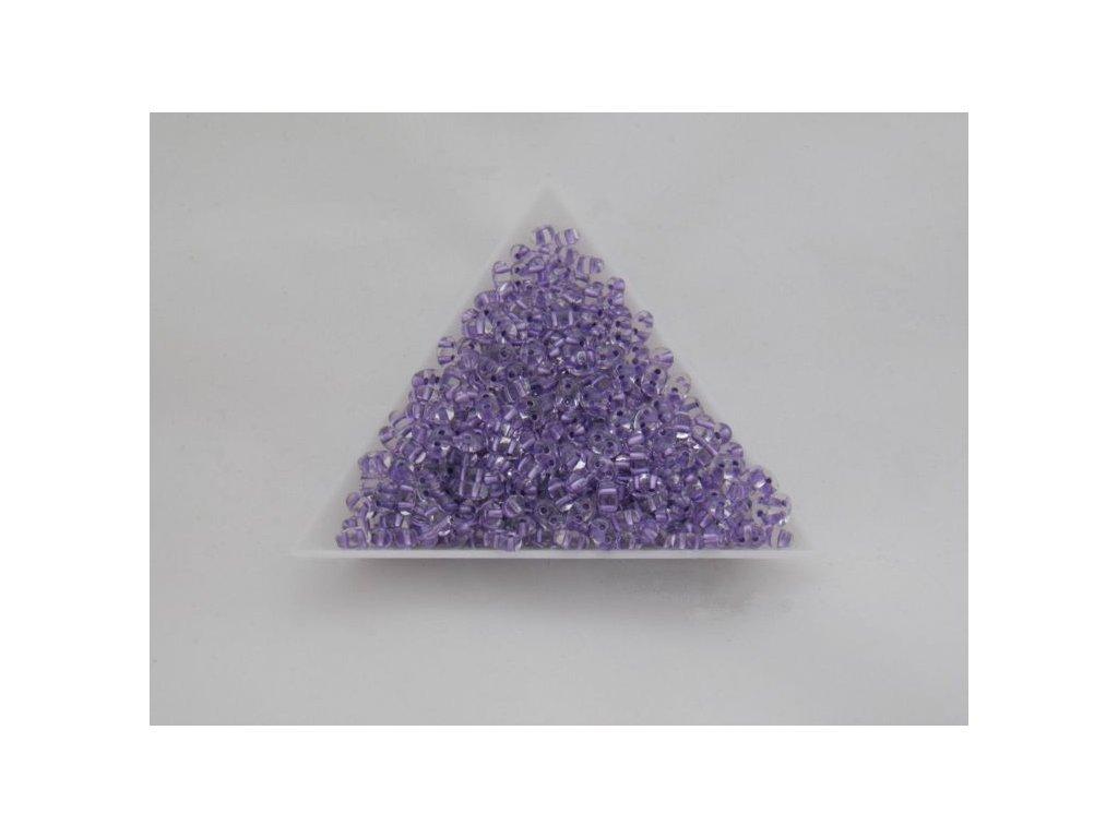 Korálky PRECIOSA Twin™ - krystal s fialovým průtahem 68228