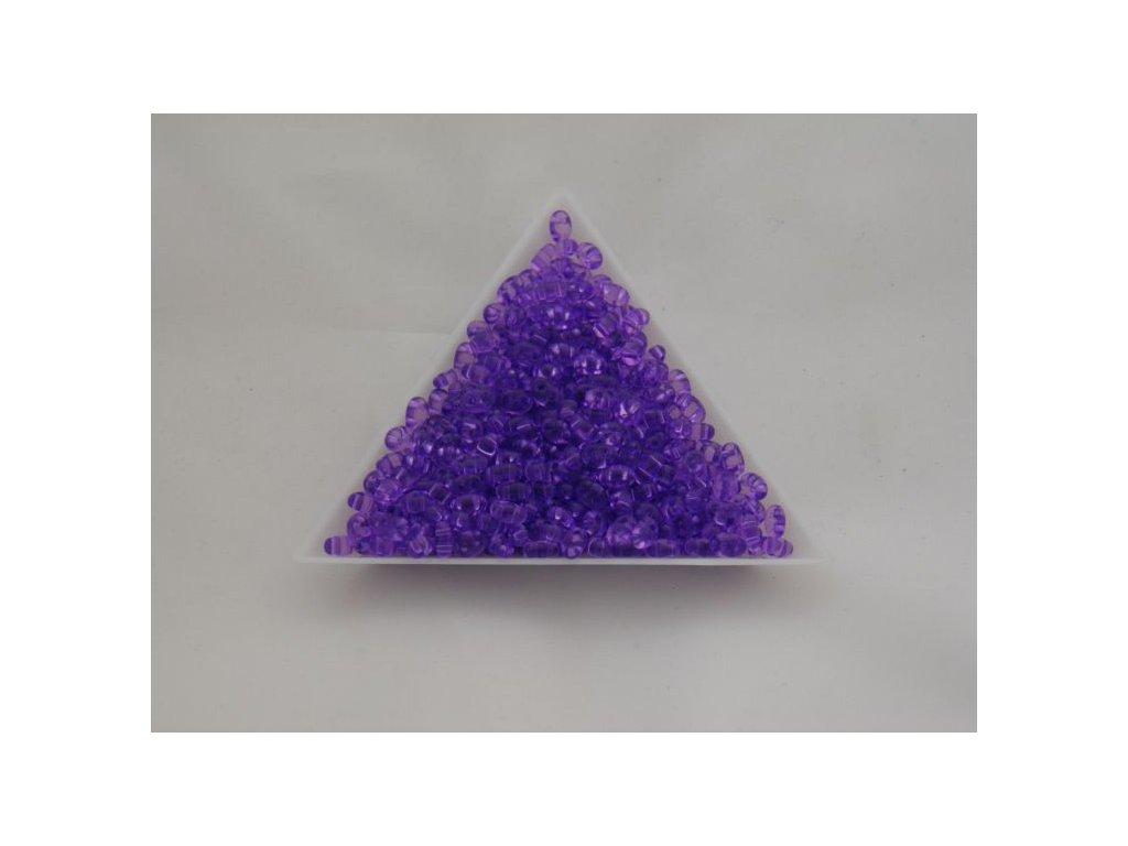 Korálky PRECIOSA Twin™ - krystal barvený fialový 01123