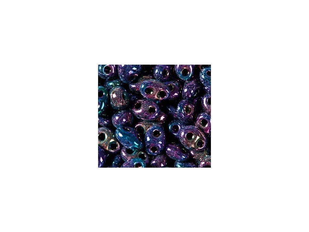 Korálky PRECIOSA Twin™ - fialový iris 59195