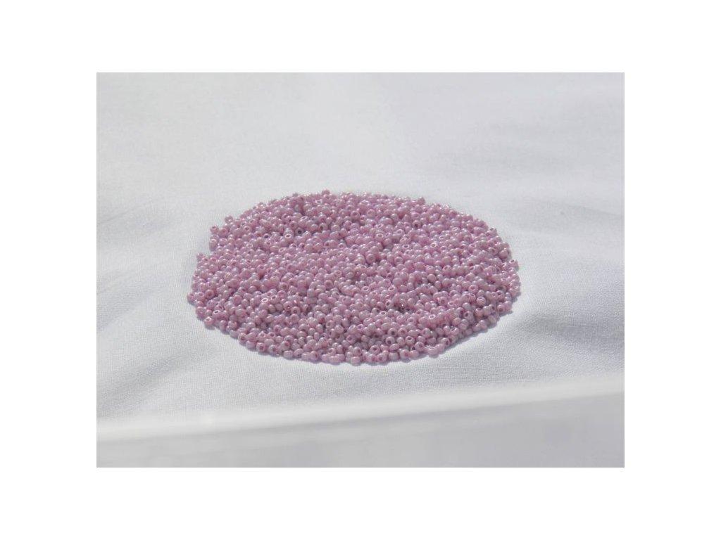 Korálky - rokajlové perličky 46326 lila pastel 10/0
