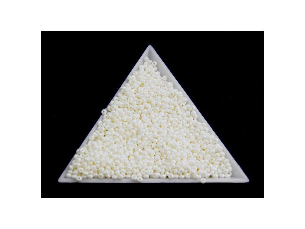 Korálky - rokajlové perličky vosk 46381 - 8/0
