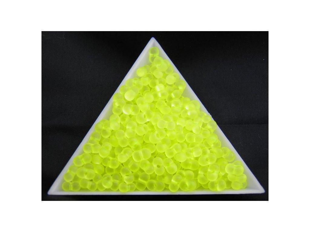 Korálky - farfale NEON žluté 38786